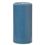 "Pillar Candle 2.8""x5.8""H - Blue"