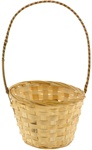Round Bamboo Basket (Pack of 12)