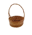 Coco Midrib Basket w/ Handle - 6""