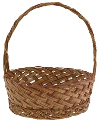 Coco Midrib Basket w/ Handle - 12.5""
