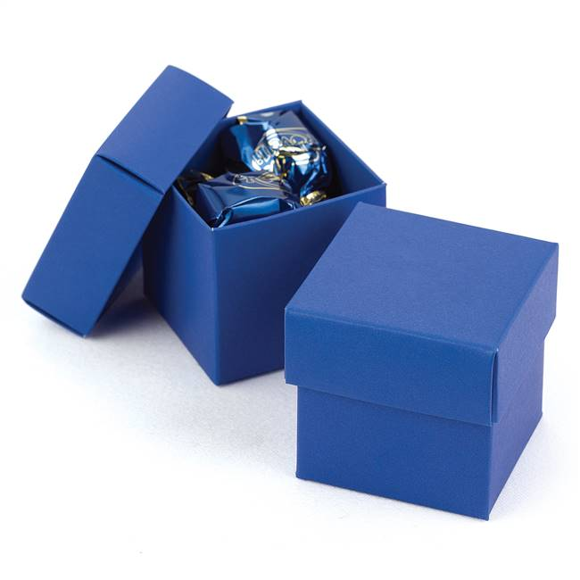 Royal Blue 2 piece Favor Boxes