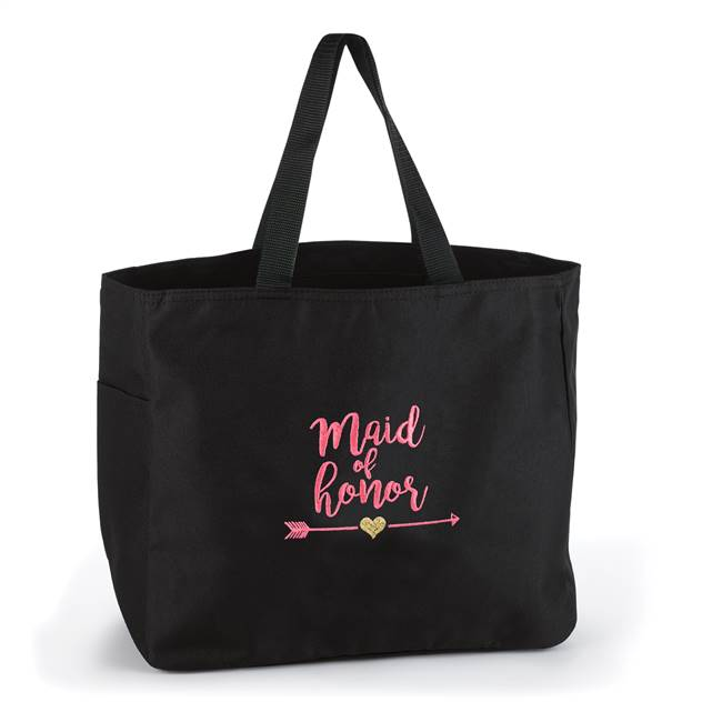 Wedding Party Tribal Tote Bag - Maid of Honor