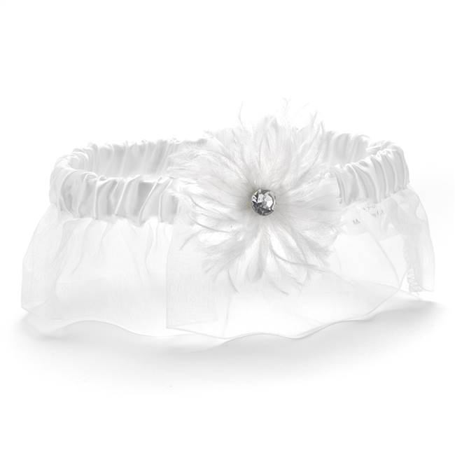Feathered Flair Garter