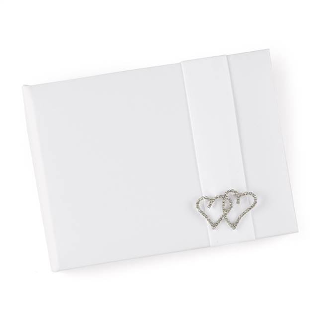White With All My Heart Guest Book