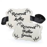 Reserved Chair Decorations - Parents of Groom