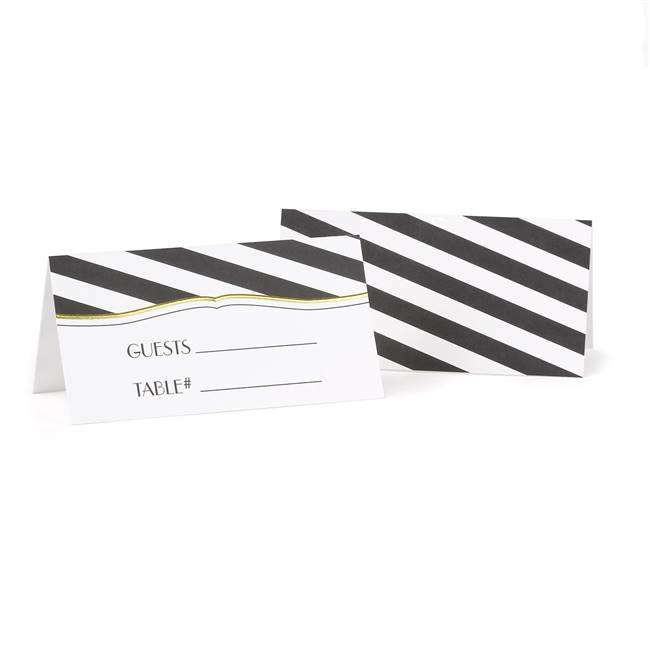 Stripes Galore Place Card