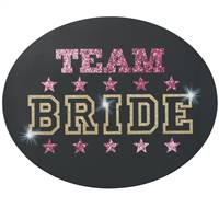 Team Bride Repositionable Cling