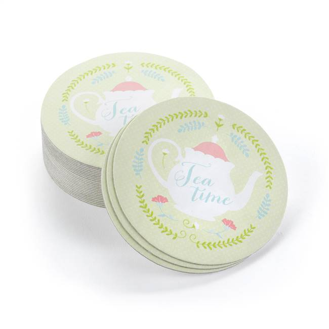 Tea Time Coasters - Blank