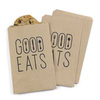 Good Eats Treat Bags - Kraft - Blank