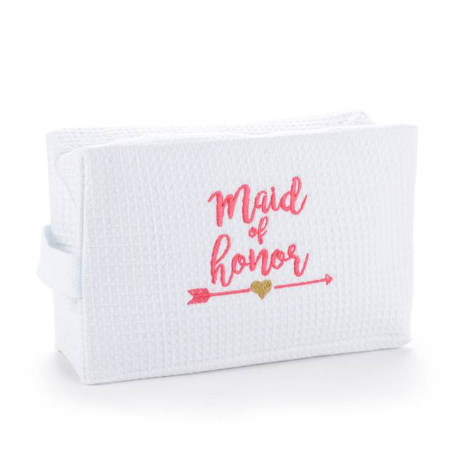 Wedding Party Tribal Cosmetic Bag - Maid of Honor