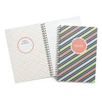 Bright Stripes Journal - Blank
