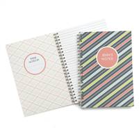 Bright Stripes Journal -