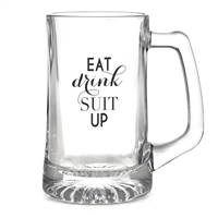 Eat, Drink, Suit Up Mug - Blank