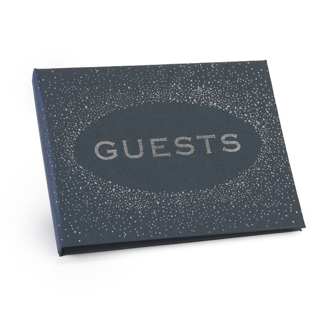 Navy Guest Book - Blank