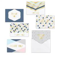 Geo Shapes Thank You Set