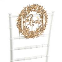 Bride Wood Chair Sign