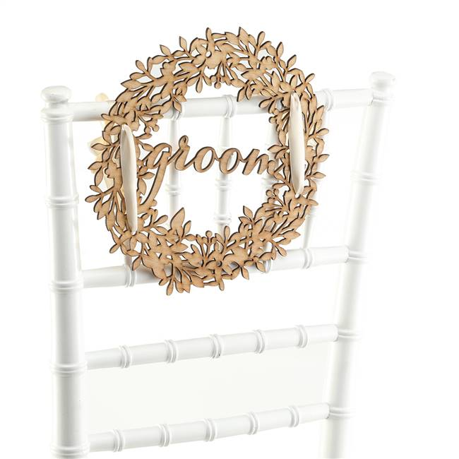 Groom Wood Sign