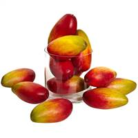 "5.5"" Weighted Faux Mango (Set of 12)"
