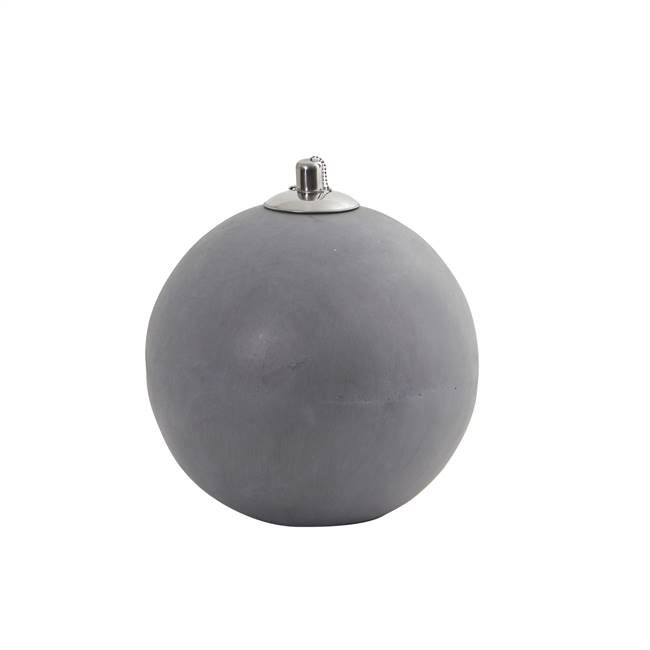 Outdoor Sphere Shaped Oil Lamp