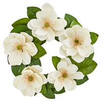 "23"" Magnolia Artificial Wreath"