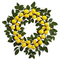 "24"" Lemon Wreath"