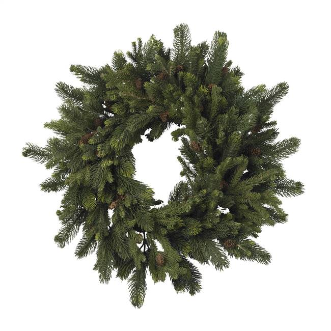 "30"" Pine & Pinecone Wreath"