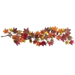 "60"" Maple Leaf Garland"