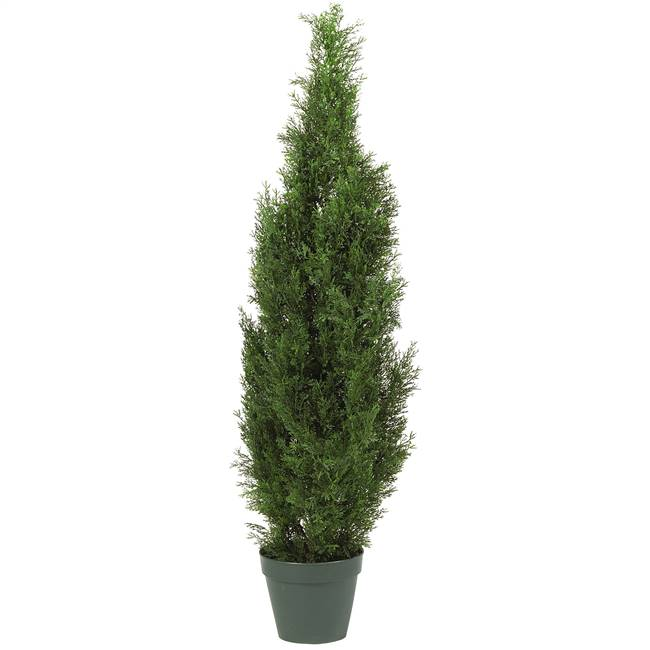 4' Cedar Tree Silk Tree (In-door/Out-door)