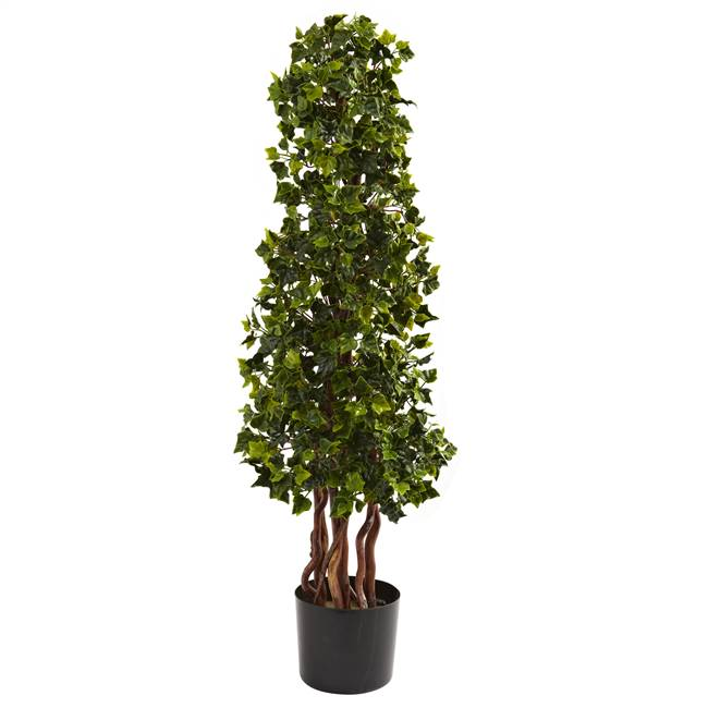 3.5' English Ivy Spiral UV Resistant (In-Door/Out-Door)