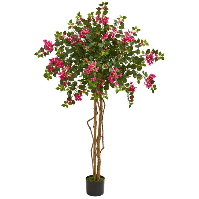 5.5' Bougainvillea Artificial Tree