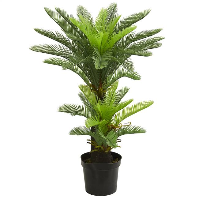 4.5' Double Potted Cycas Artificial Tree