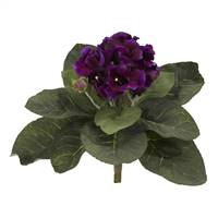 "11"" Gloxina Artificial Plant (Set of 4)"