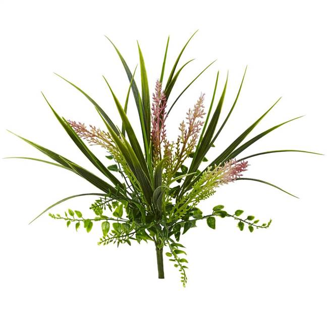 "11"" Grass and Fern Artificial Plant (Set of 12)"