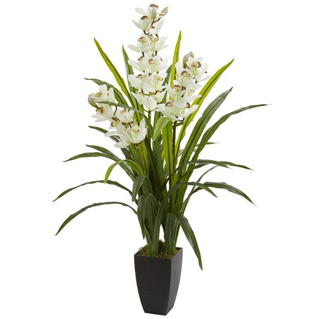 "45"" Cymbidium Orchid Artificial Plant"