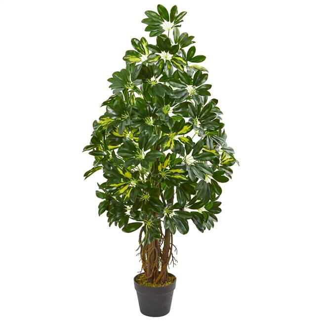 4' Schefflera Artificial Tree