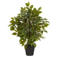 "20"" Mini Ficus Artificial Tree"