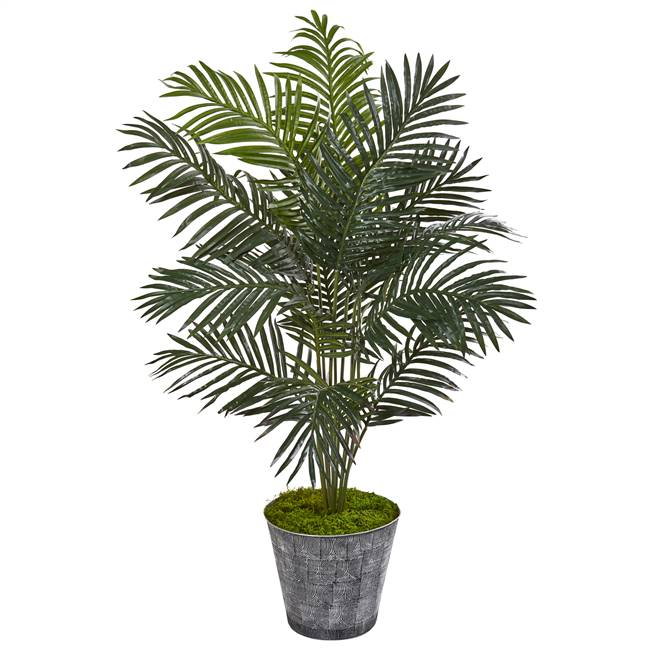 "58"" Paradise Palm Artificial Tree in Decorative Planter"