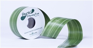 Ribbon 2''X 28Y Aspid Green Morning Frost 0228-51