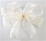 Ribbon #3 Flash Ivory Wired W350386 25Y