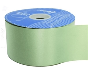 Ribbon #40 Mint Green Florasatin 100 Yd