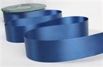 Ribbon #40 Navy Blue Florasatin 100 Yd
