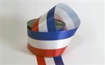 Ribbon #40 Red White Blue Florasatin Rwb 50Y