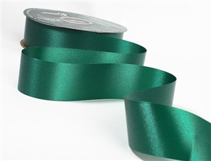 Ribbon #9 Hunter Green Florasatin Berwick 100 Yd