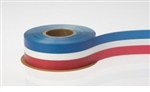Ribbon #9 Red White Blue Florasatin Berwick 50Y
