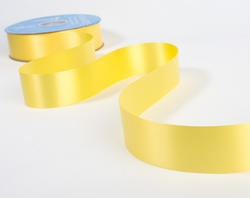 Ribbon #9 Yellow Florasatin Berwick 100 Yd.