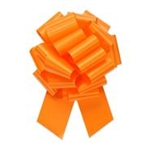 Bow Pull Bow #40 Flora Satin Tropical Orange Pk 1
