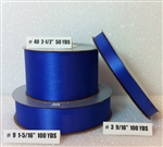 Ribbon #3 Satin Royal Blue Berwick 100 Yd Pk 1