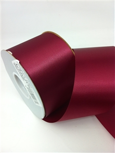 Ribbon #40 Satin Burgandy 50 Yd Pk 1
