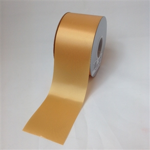 Ribbon #40 Satin Old Gold Berwick 100 Yd