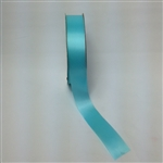 Ribbon #9 Satin Aqua Blue Berwick 50 Yd Pk 1